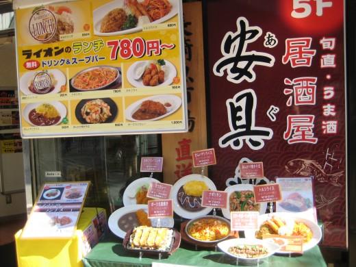 Plenty of restaurants near the hotel