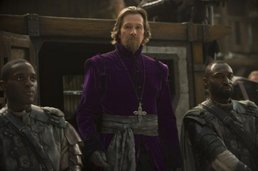 Gary Oldman plays a dashingly semi-evil Father Solomon.