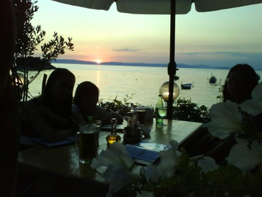 Insel Rab, Croatia - The starters tasted so delicious and the mixed fisch grill was perfect.