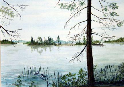 Loon Lake, In the New York State Adirondacks
