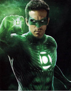Ryan Reynolds stars as Hal Jordan