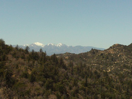 Mount Baldy from a slightly different angle.