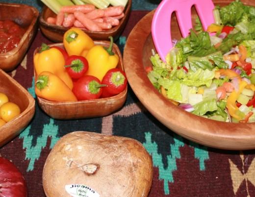 Salad ingredients....