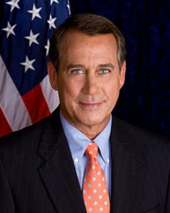 REPRESENTATIVE JOHN BOEHNER 61st Speaker of the United States House of Representatives from Ohio