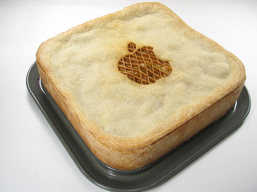 Now that's what I call an apple pie.