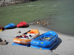 River Rafting at Rishikesh Uttaranchal India