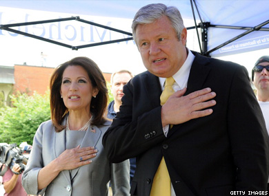Michele and Marcus Bachmann (2011)