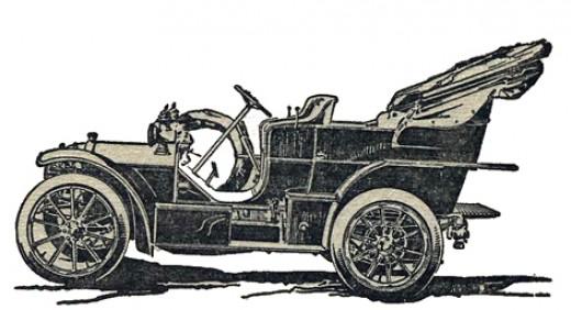 18/22-h.p four-cylinder Mercedes tourer