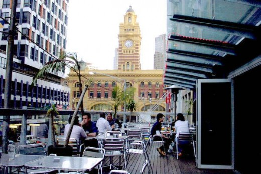 The Joint Bar Melbourne - Balcony beer garden