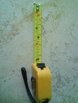LuBan measuring tape - fengshui ruler