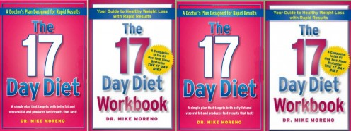 '17 Day Diet' Front Covers (Amazon)