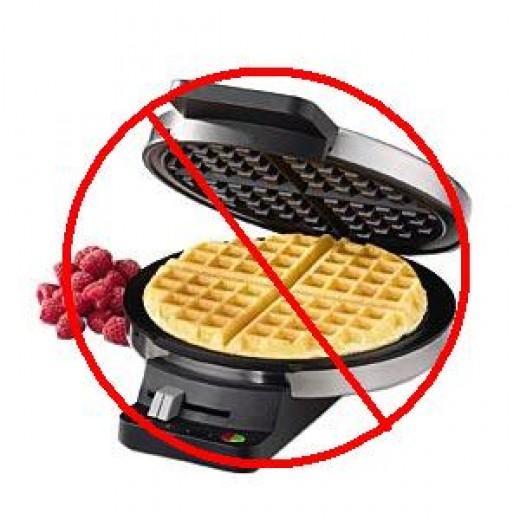 No more waffle iron!