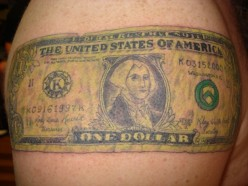 U.S. Money Tattoos