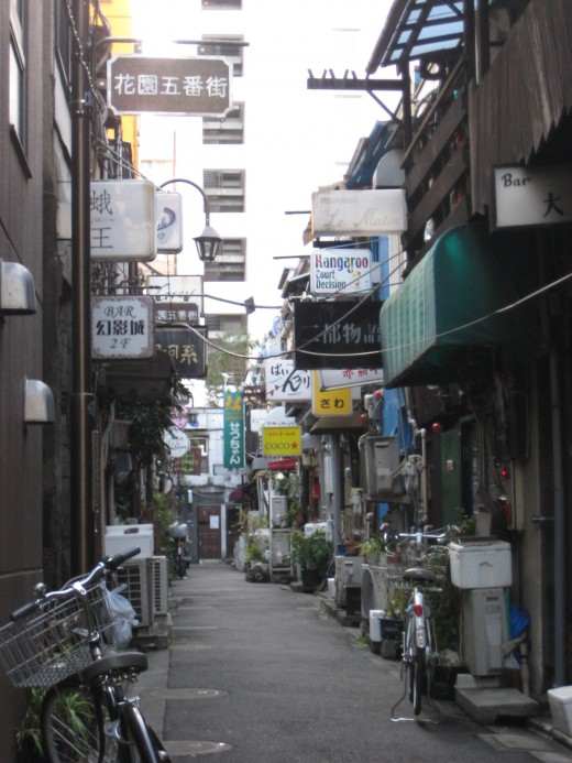 Golden Gai Alley