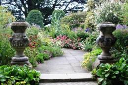 Larnach Castle gardens. Copyright 2011, Bill Yovino