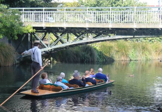 Punting on the Avon. Copyright 2011, Bill Yovino