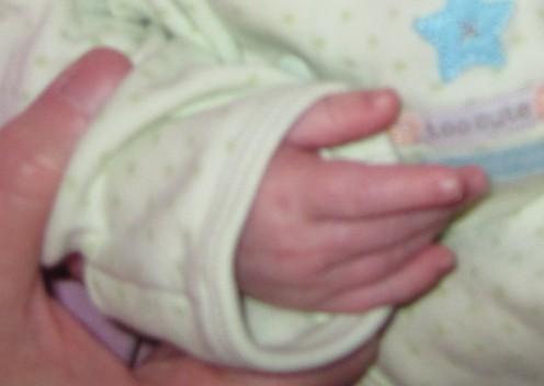 Sweet Baby Hands...