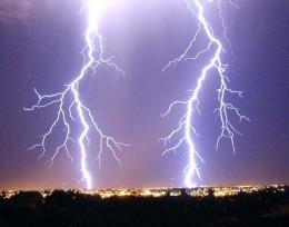 The lightning is the symbol of the Uranus