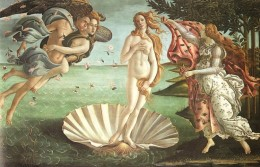 The Birth of Venus by Sandro Botticelli c. 1486