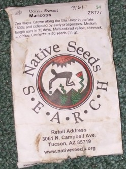 Nativeseeds.org: An Online Heirloom Seed Company with a Low Profile