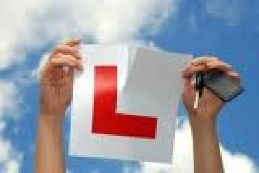 """Yay!  I have my """"L"""". That means I can drive!"""