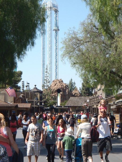 Knott's Berry Farm.