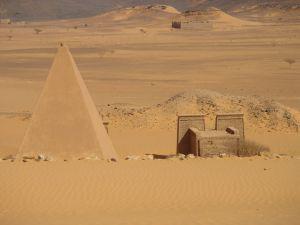 A scene in Sudan.