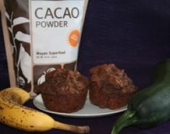Zucchini Chocolate Banana Muffins