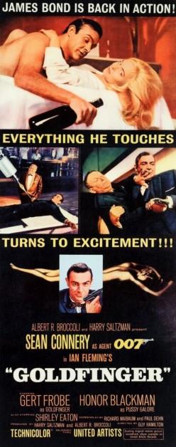 Goldfinger (1964) - Illustrated Reference