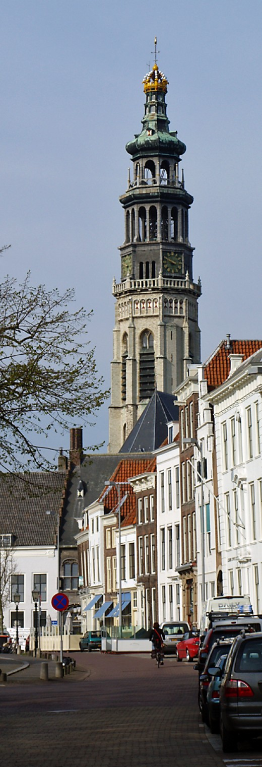 The Lange Jan tower of the abbey complex, Middelburg
