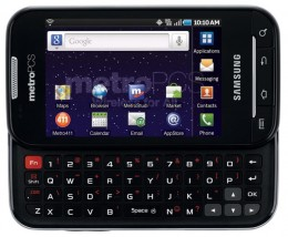 Samsung Galaxy Indulge, 4G, Android, but rather limited