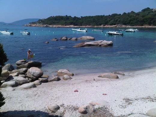 Capicciola beach, South Eastern Corsica