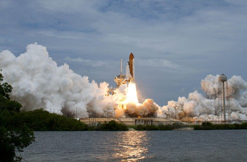 US Space Shuttle Atlantis, STS-135, the Final Mission.