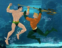 Strongest when in the water, it's no surprise then that the Sub Mariner has WINGS on his ankles. Wait... what?