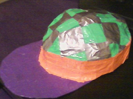 ... and the stylin' Duct Tape Hat