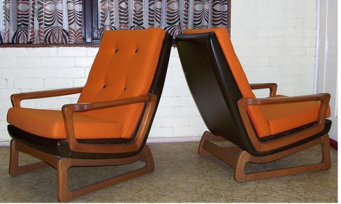 Comfortable Tessa chairs by Franl Lowen. Image by Black-Afro at Flickr
