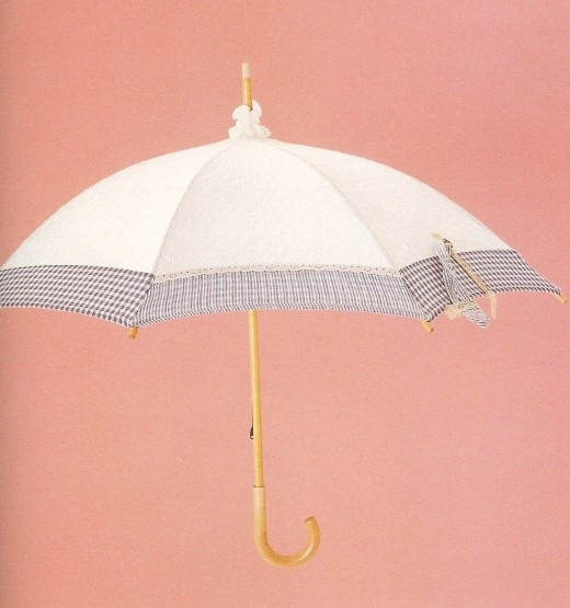 Summer umbrellas can be classy and fun.