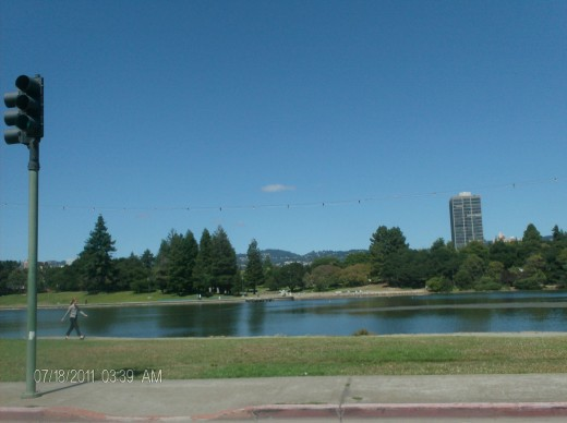 While you wait you can think about beautiful Lake Merritt that is just outside the Oakland court house.