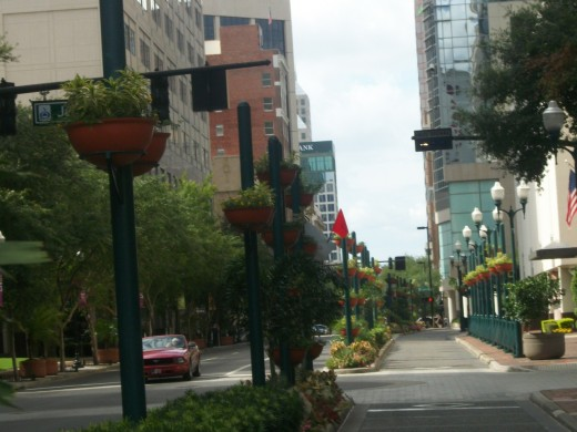 Street in Orlando