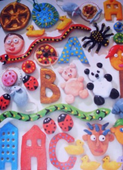 Crafts for Kids on a Rainy Day - Using Salt Dough