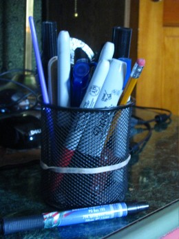 Writing implements to encourage writing