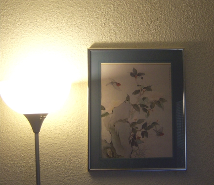 There's a time and a place for everything. For hanging pictures, that time is not 3 am.