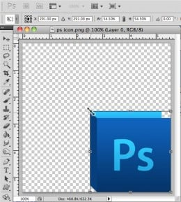 Resize Image in Photoshop-Step 3