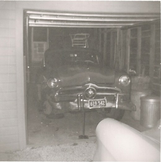 My Wrecked 49 Ford (circa 1959)