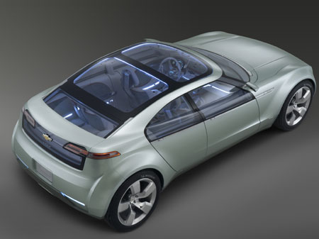 Exciting new Chevy Volt
