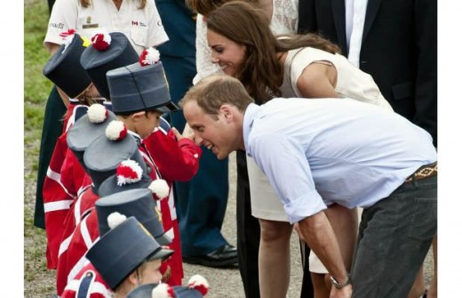 The Duke and Duchess arrive at the Forts-de-Levis Community celebration in Levis, Quebec