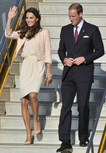 The Duke and Duchess arrive in Charlottetown, Prince Edward Island
