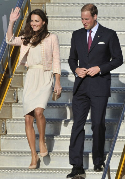 The Duke and Duchess arrive in Charlottetown, Prince Edward Island
