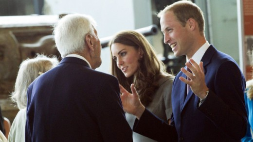 The Duke and Duchess greet veterans at the War Museum in Ottawa