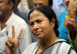 Mamata Banerjee CHIEF MINISTER of WEST BENGAL ,she fought the communists giants who were paper tigers for her.